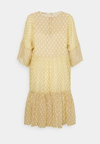 CLOSED - TENNIE - Day dress - strong mustard - 8