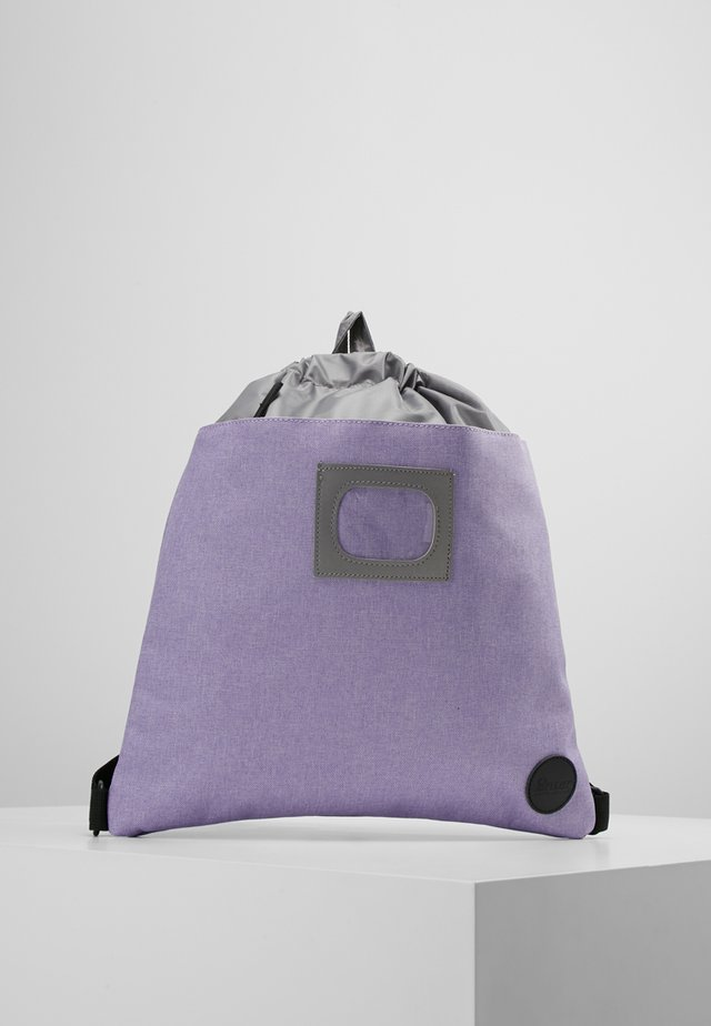 DRAWSTRING BACKPACK - Ryggsekk - melange purple