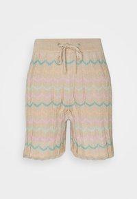 ONLY - ONLANNY LIFE - Shorts - ginger root/lichen/mazarine blue - 0