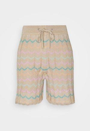 ONLANNY LIFE - Shorts - ginger root/lichen/mazarine blue