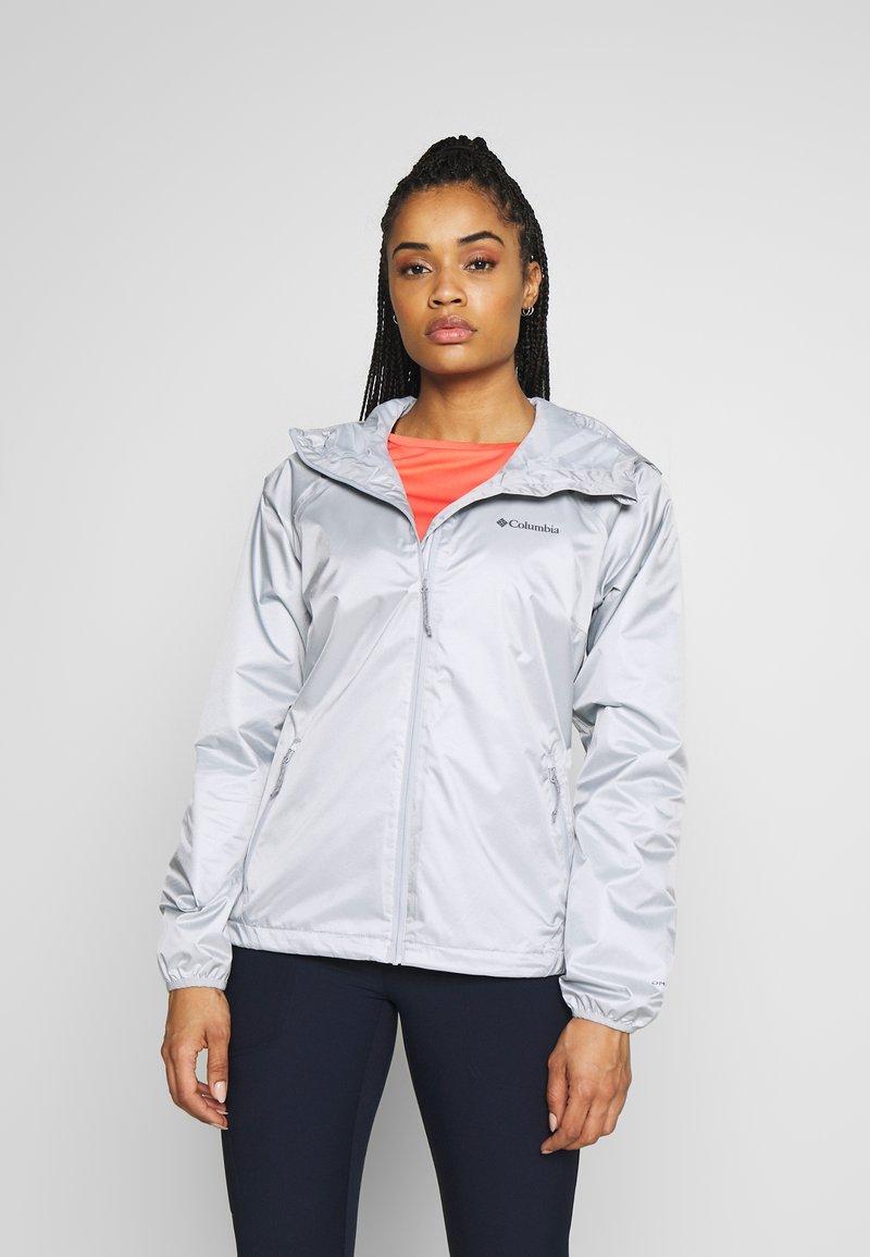 Columbia - ULICA - Waterproof jacket - cirrus green sheen