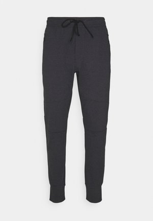 INVISIBLE ZIPPERS CUT ON CROSS GRAIN - Jogginghose - charcoal heather gray