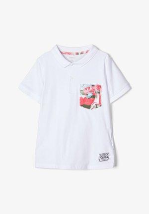 POLOSHIRT BAUMWOLL - Poloshirt - bright white