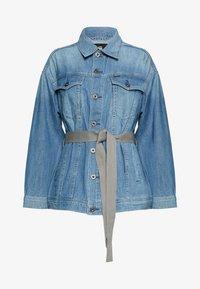 REAL BOYFRIEND - Džínová bunda - faded orion blue