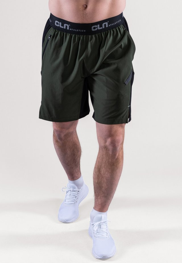 Short de sport - dark green