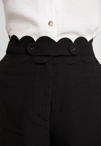 Fashion Union - TORA TROUSER - Kalhoty - black - 4
