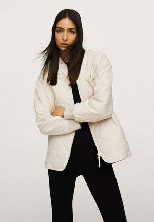 Light jacket - ecru