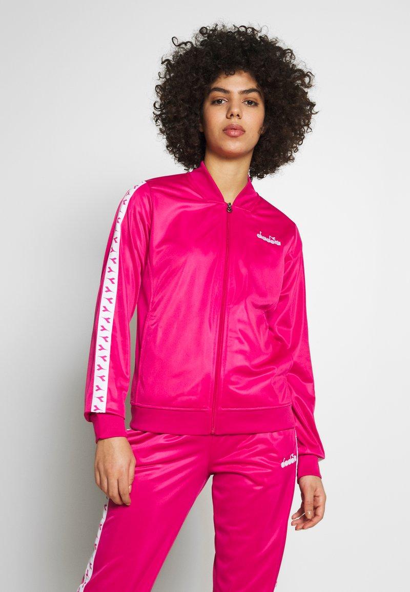 Diadora - CHROMIA  - Verryttelypuku - beetroot pink