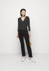 Lauren Ralph Lauren - Long sleeved top - black/white - 1