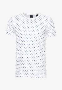 FROM JUMPER AS TEE - Print T-shirt - white