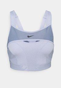 ALPHA BRA - High support sports bra - ghost/ashen slate/black