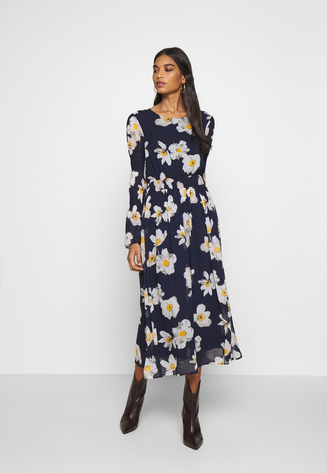 LELA DRESS - Maxikjole - dark blue