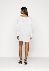 Missguided Petite - AYVAN OFF SHOULDER DRESS - Jumper dress - white - 2