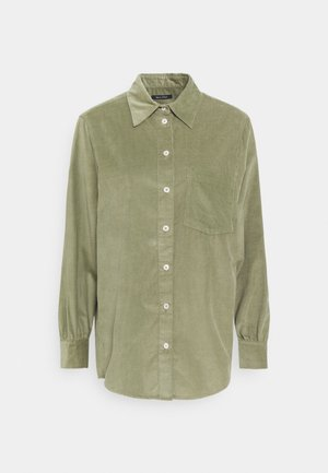 Button-down blouse - dried sage
