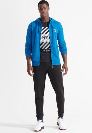 Zip-up sweatshirt - naval blue