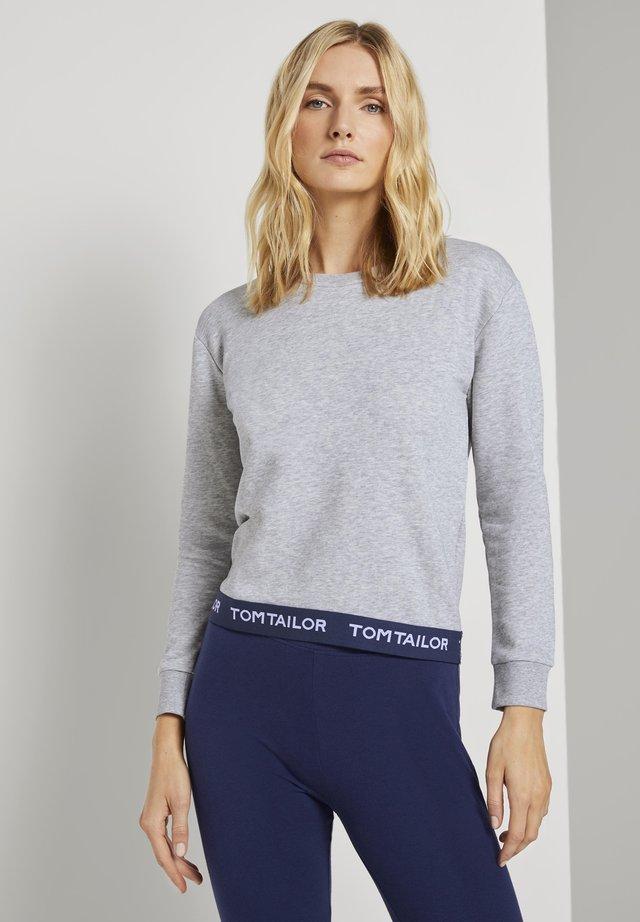 Pyjamashirt - grey melange