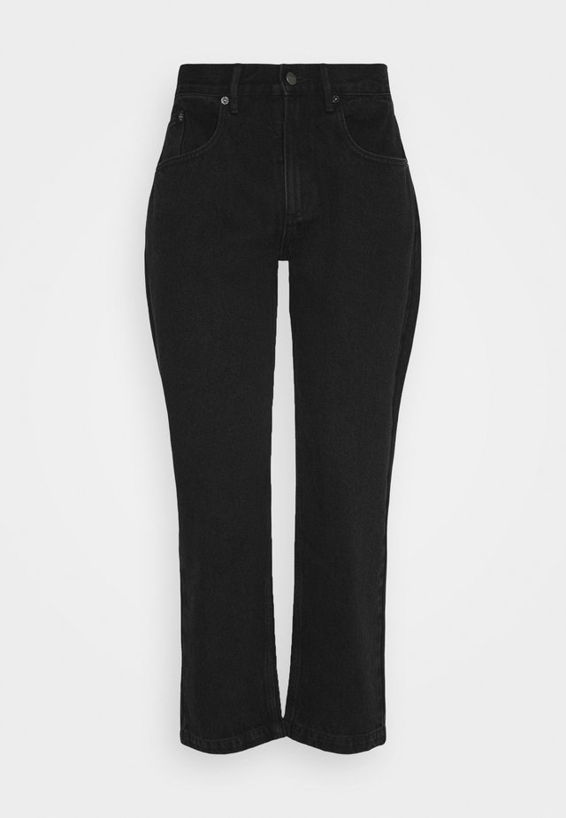 NO FUN  - Relaxed fit jeans - black