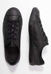 Converse - CHUCK TAYLOR ALL STAR DAINTY - Trainers - black - 3