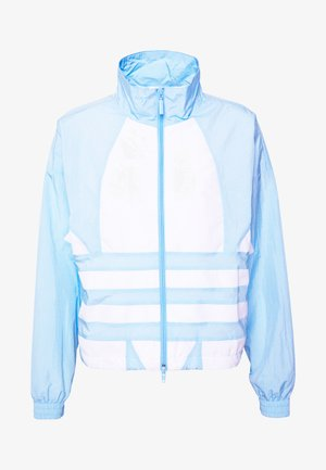 LOGO - Training jacket - clear sky/white