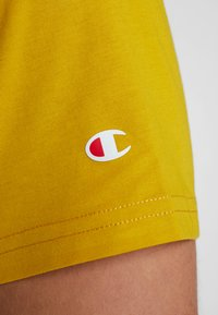 Champion - CREWNECK - T-shirt basic - mustard yellow - 4