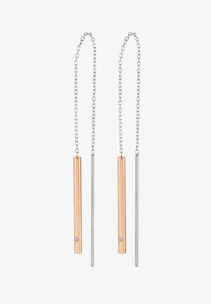 ELIN - Náušnice - silber-coloured/roségold-coloured