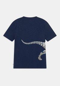 GAP - BOY TEE ZIPPER - T-shirt con stampa - elysian blue - 1