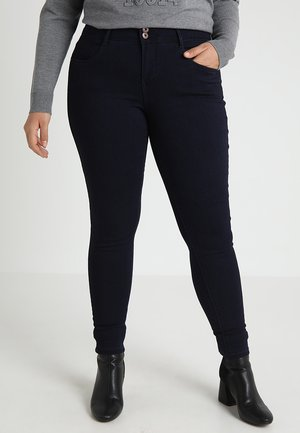 CARANNA ANK - Jeans Skinny Fit - dark blue denim
