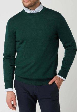 Jumper - mottled green