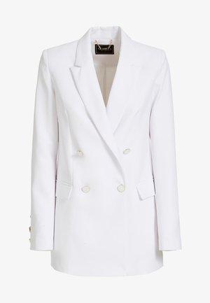 Short coat - bianco