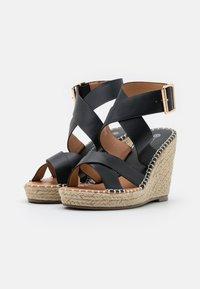 Divine Factory - Platform sandals - noir - 2