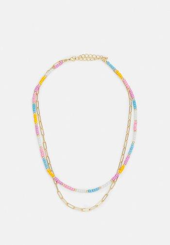 NECKLACE - Necklace - gold-coloured/pastels
