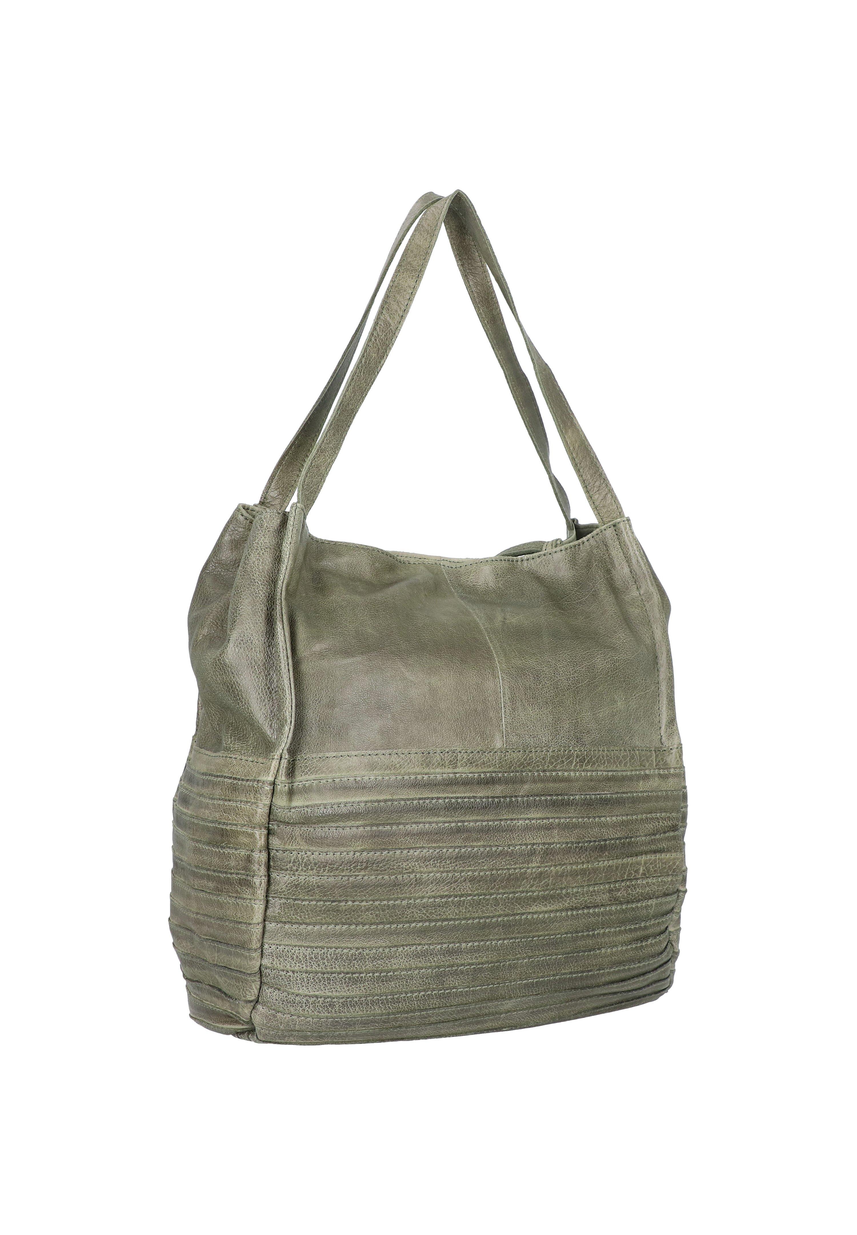 Fredsbruder Mob - Shopping Bag Olive/oliv