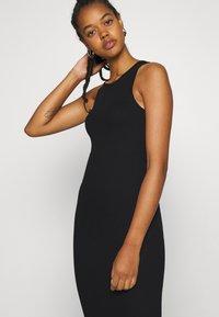 Weekday - STELLA DRESS - Jersey dress - black - 4