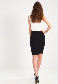 Expresso - XOON - Pencil skirt - black - 2