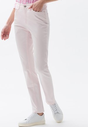MARY SLIM FIT - Straight leg jeans - pink