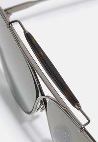 Tom Ford - UNISEX - Zonnebril - shiny gunmetal/ brown mirror - 2