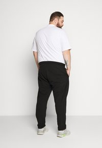 Calvin Klein - LOGO EMBROIDERY - Pantaloni sportivi - black - 2