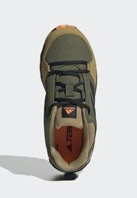 adidas Performance - TERREX HYPERHIKER LOW WANDERSCHUH - Hiking shoes - green - 3