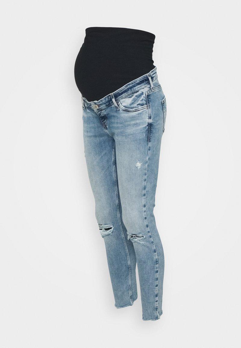 River Island Maternity - OVERBUMP AMELIE HAVANNAH - Jeans Skinny Fit - light auth