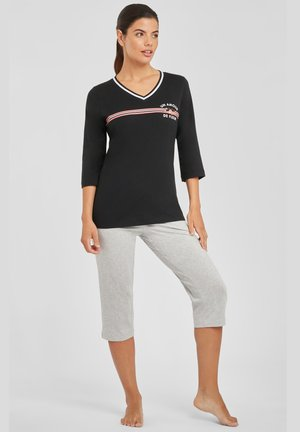 VIVANCE DREAMS CAPRI - Pyjamas - schwarz-grau