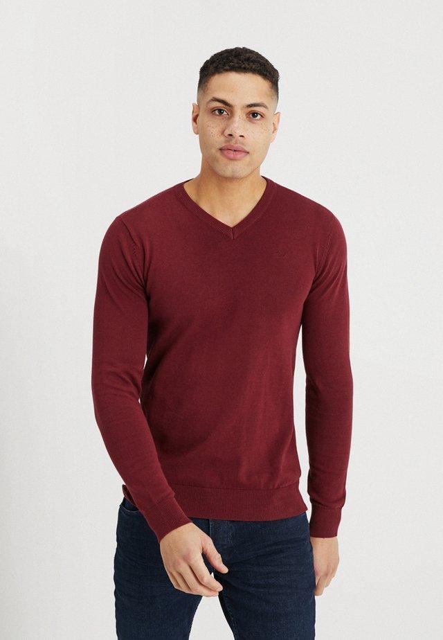 Pullover - skar red