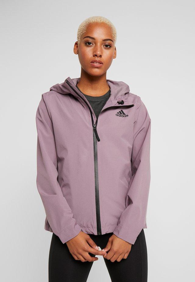 BSC 3-STRIPES RAIN.RDY - Regnjakke / vandafvisende jakker - purple