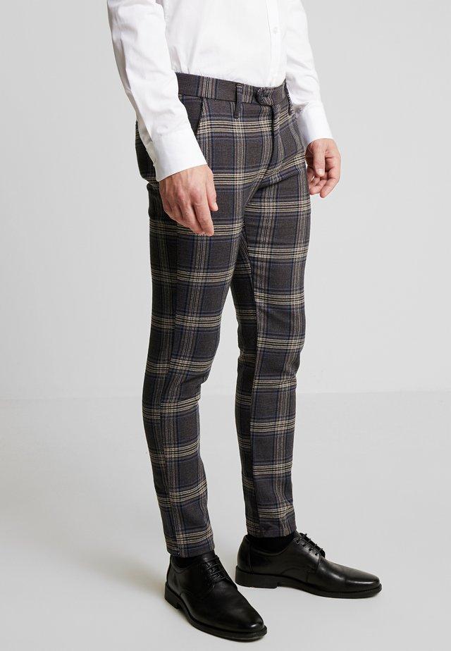 PANTALONE - Pantalon classique - blue