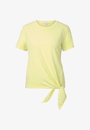 Basic T-shirt - daffodil yellow