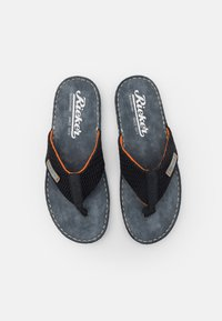 Rieker - T-bar sandals - pazifik/navy/grigio - 3