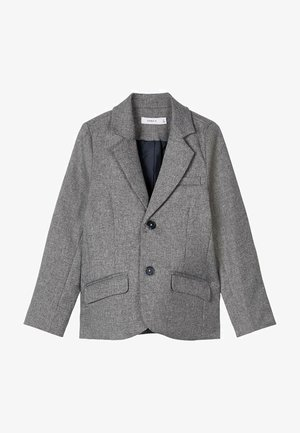 Blazer jacket - grey melange