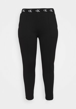 LOGO TRIM PANT - Leggings - Trousers - beh