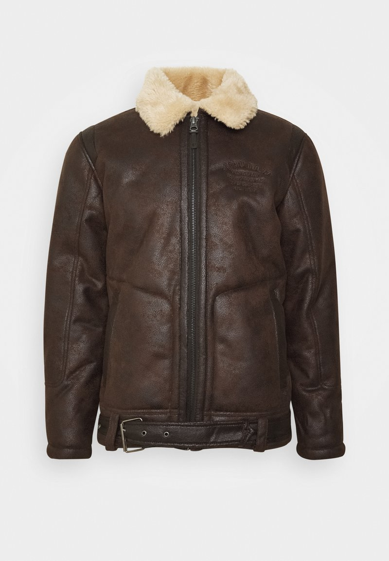 Petrol Industries - Faux leather jacket - crudeoil