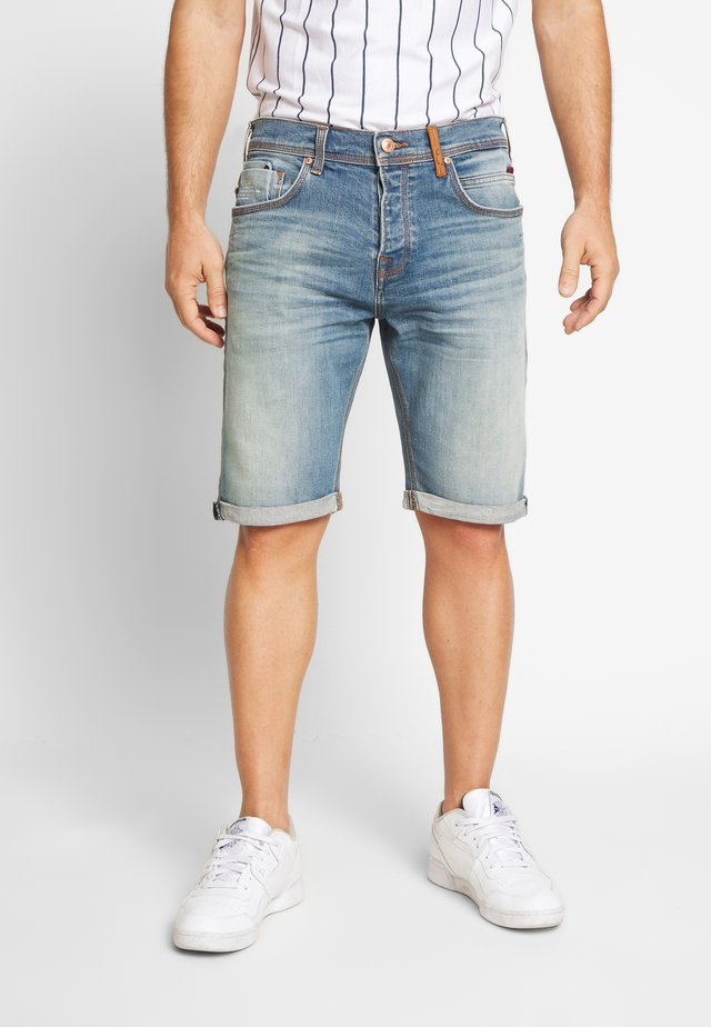 CORVIN - Denim shorts - luther wash