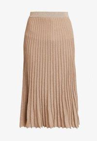 Derhy - OAKLAND - A-line skirt - beige - 4